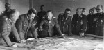 Гитлер на совещании в Запорожье