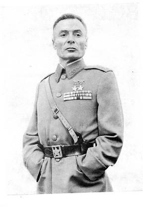 известный запорожский генерал Василий Петров