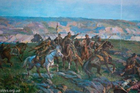 Диорама«Битва Святослава у Днепровских порогов в 972 году»
